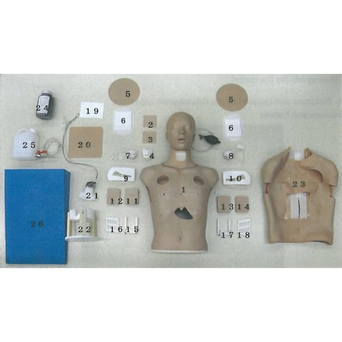 Neck cover, skin with cut, for GM12306
