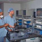 Surgery and Laparoscopy Torso with Diathermy