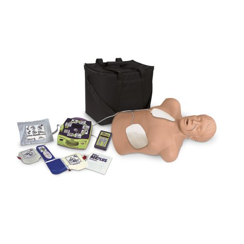 HLW Torso Brad mit Zoll AED Trainer Package