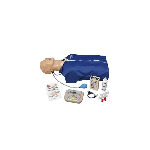 Airway Larry Torso mit Defibrillationsfunktion, EKG-Simulation und AED-Training